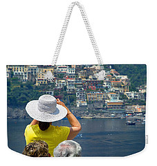 Cruising The Amalfi Coast Weekender Tote Bag
