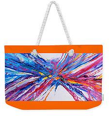 Crux Weekender Tote Bag by Expressionistart studio Priscilla Batzell