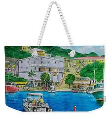 Cruz Bay St. Johns Virgin Islands Weekender Tote Bag
