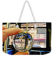 Crystal Ball Project 64 Weekender Tote Bag by Sarah Loft