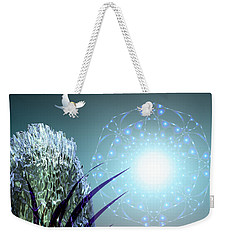 Crystal Breathing Rock Weekender Tote Bag by Rosa Cobos