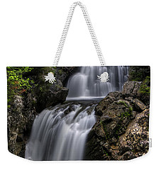 Crystal Cascade In Pinkham Notch Weekender Tote Bag