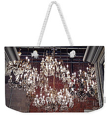 Crystal Chandeliers Weekender Tote Bag by M West