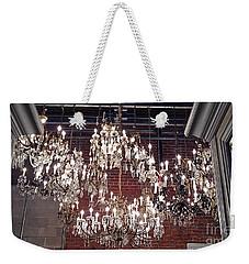 Crystal Chandeliers Weekender Tote Bag