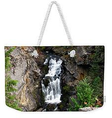 Crystal Falls Weekender Tote Bag