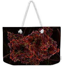 Weekender Tote Bag featuring the digital art Crystal Inspiration #2 by Olga Hamilton