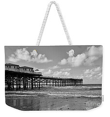 Crystal Pier In Pacific Beach Weekender Tote Bag