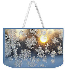 Crystal Sunrise Weekender Tote Bag