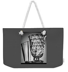 Crystal Vases From Steuben Weekender Tote Bag