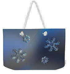 Weekender Tote Bag featuring the photograph Crystals Of Day And Night by Alexey Kljatov