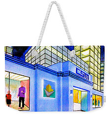 Csm Mall Weekender Tote Bag by Cyril Maza