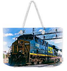 Csx 5292 Warner Street Crossing Weekender Tote Bag