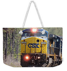 Csx 7363 Weekender Tote Bag by Kim Pate