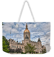 Ct State Capitol Building Weekender Tote Bag