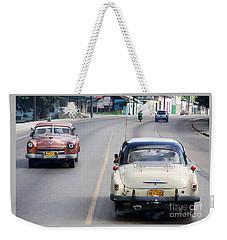 Weekender Tote Bag featuring the photograph Cuba Road by PJ Boylan