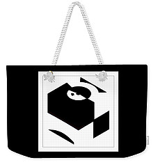 Weekender Tote Bag featuring the digital art Cube by Wendy J St Christopher