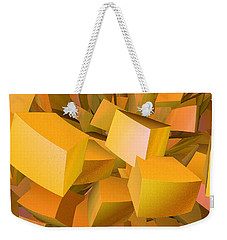 Cubist Melon Burst By Jammer Weekender Tote Bag