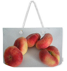 Cubist View Of Peento Peaches Weekender Tote Bag