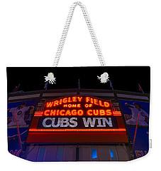 Cubs Win Weekender Tote Bag
