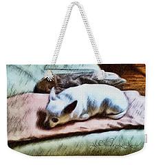 Cuddly Weekender Tote Bag