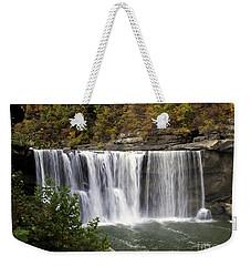 Cumberland Falls H Weekender Tote Bag