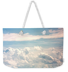 Cumulus Clouds Weekender Tote Bag
