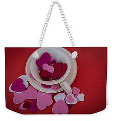 Cup Full Of Love Weekender Tote Bag by Patrice Zinck