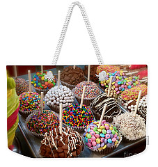 Weekender Tote Bag featuring the photograph Cupcakes Galore by The Art of Alice Terrill