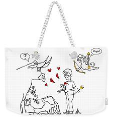 Cupid Valentines Weekender Tote Bag