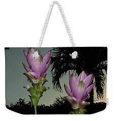 Curcuma Hybrid Flowers Weekender Tote Bag by Greg Allore