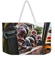 Curiosity Weekender Tote Bag by Wallaroo Images