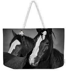 Curious Horses Weekender Tote Bag by Ana V Ramirez
