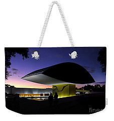 Curitiba - Museu Oscar Niemeyer Weekender Tote Bag