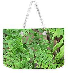Curly Fronds Weekender Tote Bag