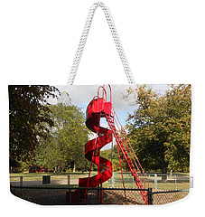 Curly Q In Autumn Sun Weekender Tote Bag