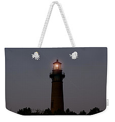 Weekender Tote Bag featuring the photograph Currituck Lighthouse by Greg Reed