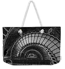 Weekender Tote Bag featuring the photograph Currituck Lighthouse Stairs by Greg Reed