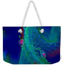 Cursive Weekender Tote Bag