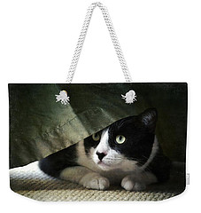 Curtain Call Weekender Tote Bag by Fraida Gutovich
