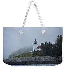 Weekender Tote Bag featuring the photograph Curtis Island Lighthouse by Daniel Hebard