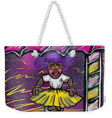 Curtsy Doll Rain Weekender Tote Bag