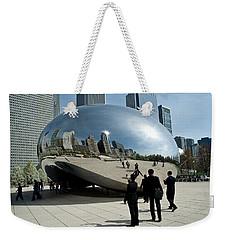 Curved Perception Weekender Tote Bag