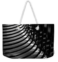 Weekender Tote Bag featuring the photograph Curved by Wendy Wilton