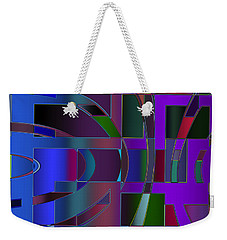 Curves And Trapezoids 2 Weekender Tote Bag