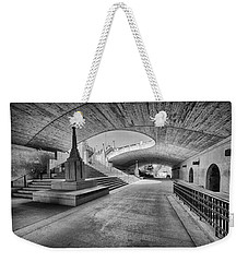 Curves Weekender Tote Bag by Eunice Gibb