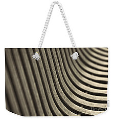 Weekender Tote Bag featuring the photograph Curves I. by Clare Bambers