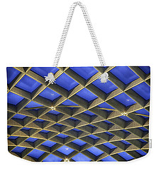 Curvilinear Skylight Structure  Weekender Tote Bag by Lynn Palmer