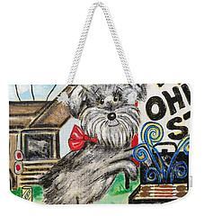 Osu Tailgating Dog Weekender Tote Bag