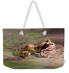 Cute Litte Creek Frog Weekender Tote Bag