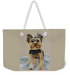 Cute Yorkie Weekender Tote Bag
